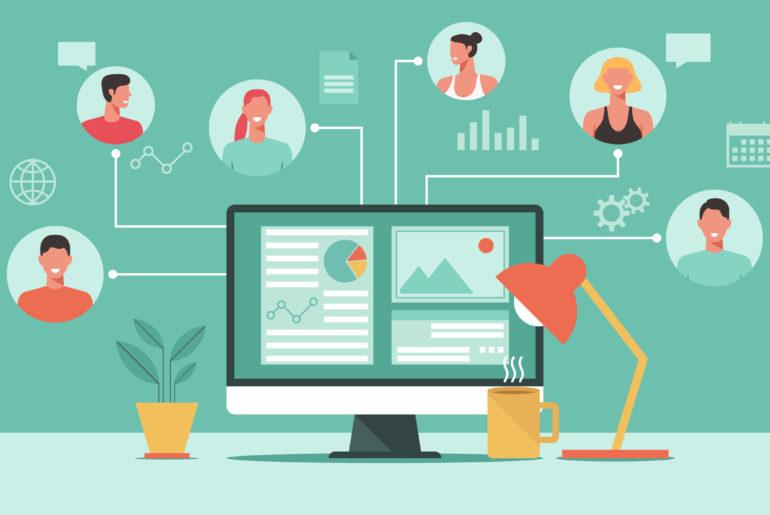 digitale zusammenarbeit