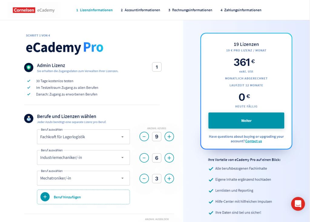 eCademy Pro