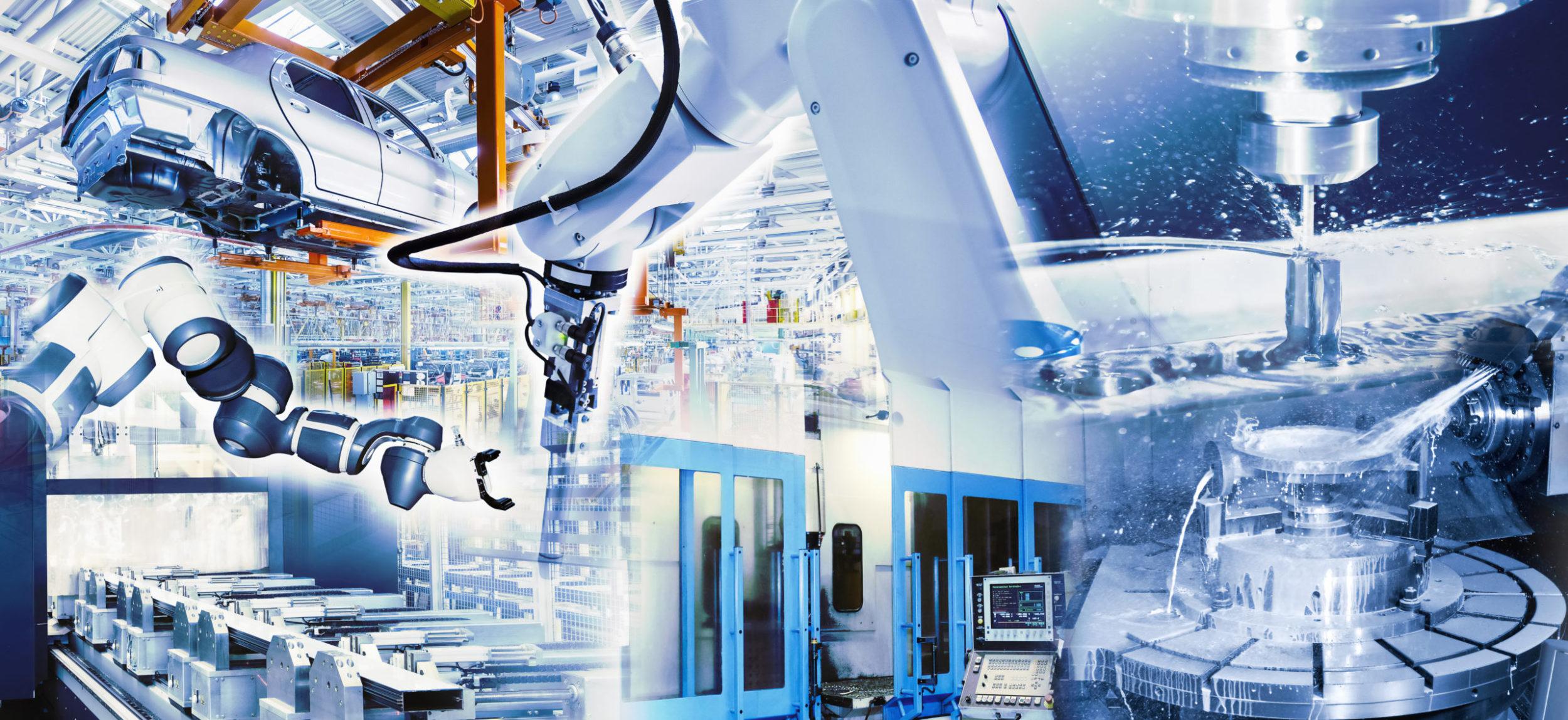 Industrie 4.0 mit hochmoderner Technologie