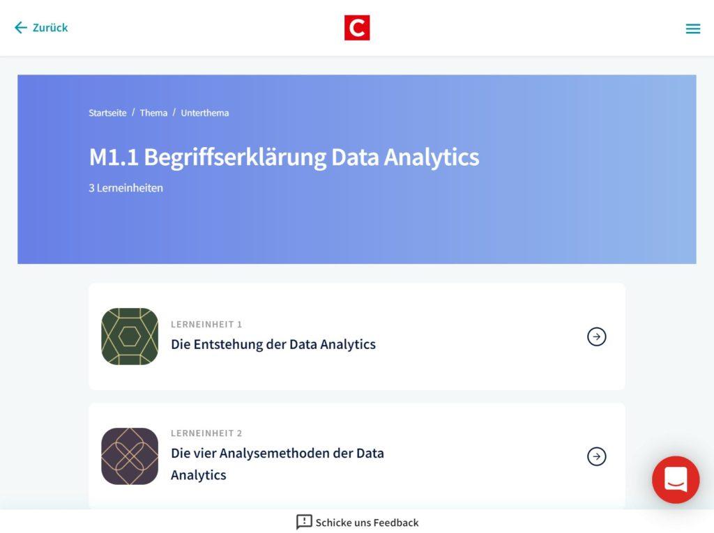 Datenanalyse-eCademy